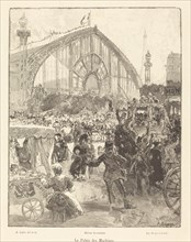 Le Palais des Machines, published 1889.