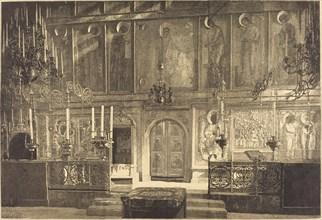 L'Inconestase de la Cathedrale de l'Assomption, 1883.