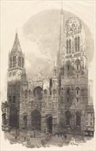 Rouen Cathedral (La Cathedral de Rouen), 1888.