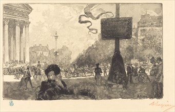 Corner of the Rue Royale (Coin de la rue royale), 1890.