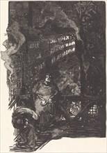 Atelier de magisserie aux Gobelins, published 1901.