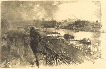 The Seine near the Austerlitz Bridge, 1888.