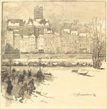 Quai de l'Hôtel de Ville, 1886.