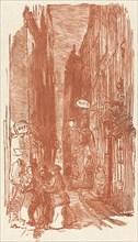 Rue Saint-Severin, published 1901.