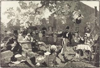 Le Cabaret du Coq de Bruyère au Bois de Meudon, 1888.
