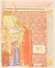 Interior with Pink Wallpaper III (Interieur aux tentures roses III), c. 1896 (published 1899).