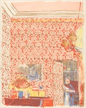 Interior with Pink Wallpaper I (Interieur aux tentures roses I), c. 1896 (published 1899).