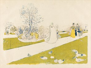 The Tuileries Garden (Le jardin des Tuileries), published 1896.