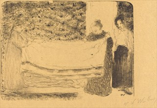Folding the Linen (Le pliage du linge), 1893.