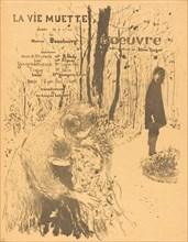 La Vie muette, 1894.