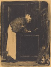Old Woman at a Stove (Vielle Femme au Fourneau), 1893.