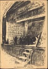 Une répétition à L'Oeuvre, Program for L'Oasis, 1903.