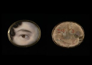Eye of a Lady, ca. 1800.