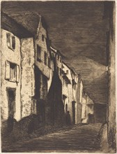 Street at Saverne, 1858.
