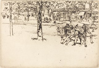 Le Boulevard Poissoniere, 1893.