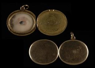 Eye of a Lady, ca. 1824.