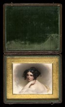 """Frances Anne """"Fanny"""" Kemble, ca. 1833."""