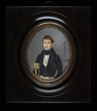 Caballero de la familia Goyena (Gentleman of the Goyena Family), ca. 1835-1843.