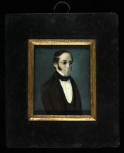 Caballero con lentes de la familia Canals, ca. 1840-1855.