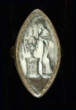 Mourning Ring for William Burnside, 1788.
