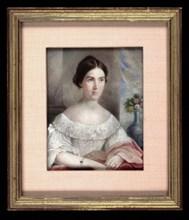Harriet Hampton, ca. 1835.
