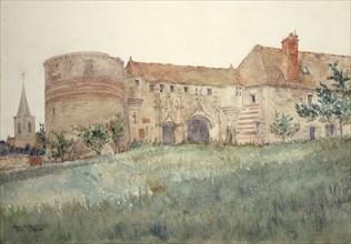 Chateau de l'Houblouniere, 1924.