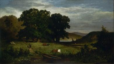 Oak Trees, 1876.