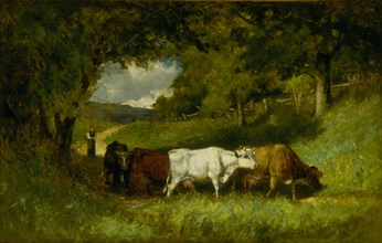 Driving Home the Cows, 1881.