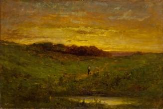 Sunset, 1883.