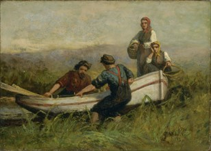 People Near Boat, 1893.