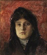 Tete de Femme, ca. 1910.