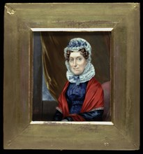 "Mrs. Putnam Catlin (Mary ""Polly"" Sutton), 1825."