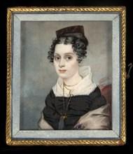 Portrait of Mary Catlin, ca. 1827.