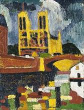 Notre Dame, ca. 1907.