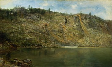 The Iron Mine, Port Henry, New York, ca. 1862.
