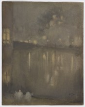 Nocturne: Grey and Gold?Canal, Holland, 1882.