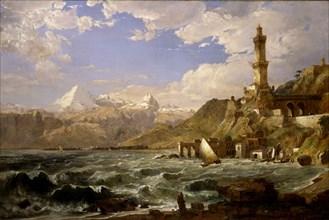 The Coast of Genoa, 1854.