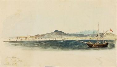 Port of Larnaca, 1844.