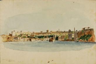 Adalia, Asia Minor, 1844 or 1846.