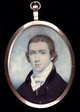 Portrait of a Gentleman with Initials G. D., ca. 1805.