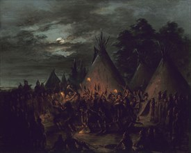 Scalp Dance, Sioux, 1845-1848.