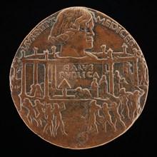 Lorenzo de' Medici, il Magnifico, 1449-1492 (The Pazzi Conspiracy Medal) [obverse], 1478.