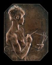 Painting (La peinture) [obverse], 1897.