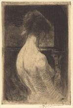 Back of a Woman (Dos de Femme), 1889.