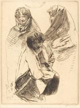 Three Veiled Women (Trois femmes voilées), 1899.