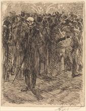 In the Crowd (Dans la foule), 1900.