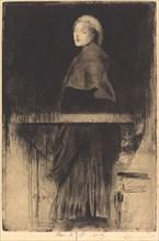 Woman with a Cape (La Femme à la Pelerine), 1889.