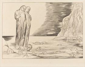 The Circle of the Traitors; Dante's Foot Striking Bocca degli Abbate, 1827.