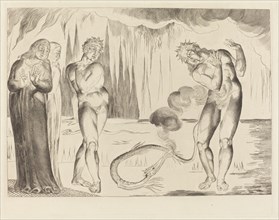 The Circle of the Thieves; Buoso Donati Attacked by the Serpent, 1827.