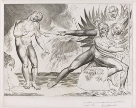 The Circle of the Corrupt Officials; the Devils Tormenting Ciampolo, 1827.